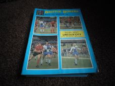 Bristol Rovers v Lincoln City, 1981/82